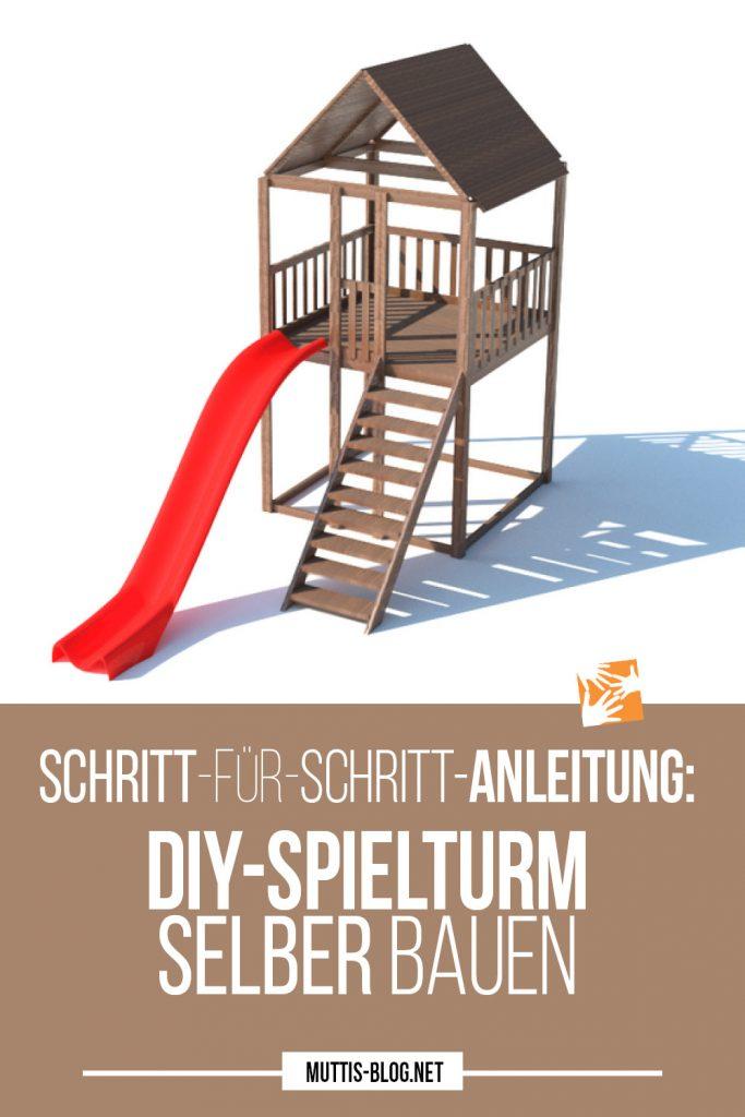 Schritt-für-Schritt-Anleitung: Spielturm für Kindern im Garten selber bauen