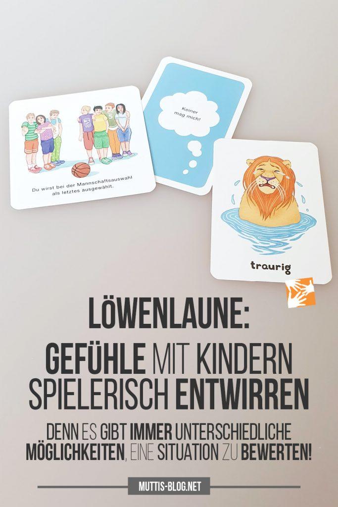 Löwenlaune: Gefühle mit Kindern spielerisch entwirren