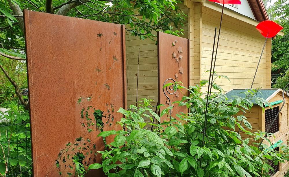 Must-haves im Garten: Sichtschutz