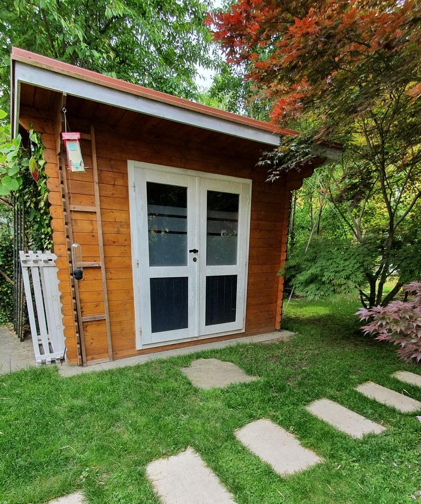 Must-haves im Garten: Gartenhütte
