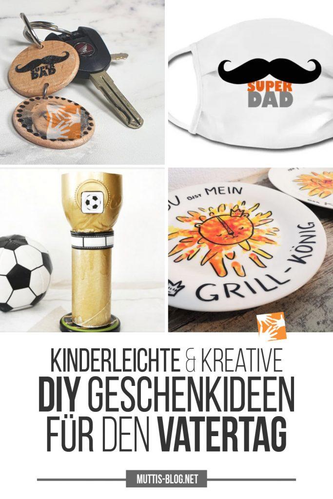 Kinderleichte, geniale DIY-Geschenkideen für den Vatertag