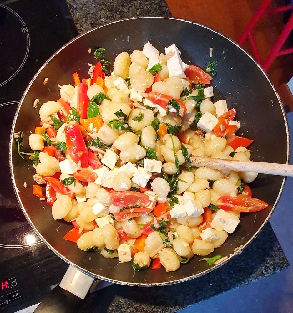 Schnelle Mittagessen für Kinder: Gnocchi mit Thunfisch