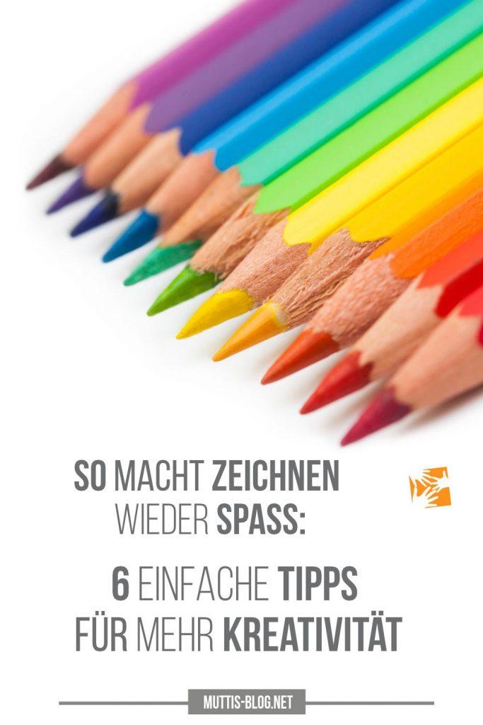 6 Tipps für mehr Kreativität