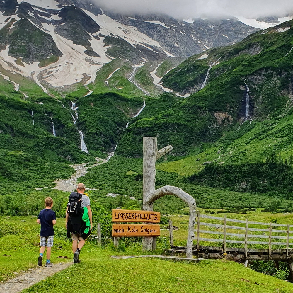 Rauriser Wasserfallweg