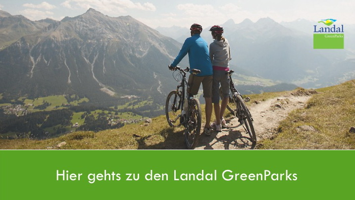 Hier geht's zu den Landal GreenParks