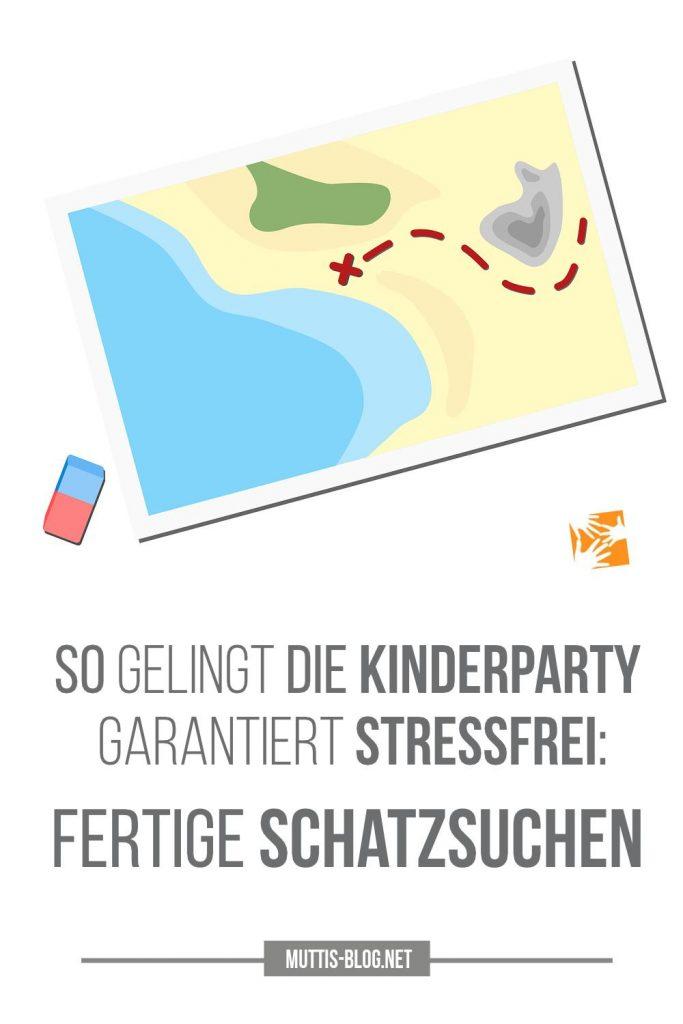 Fertige Schatzsuchen für eine stressfreie Kinderparty