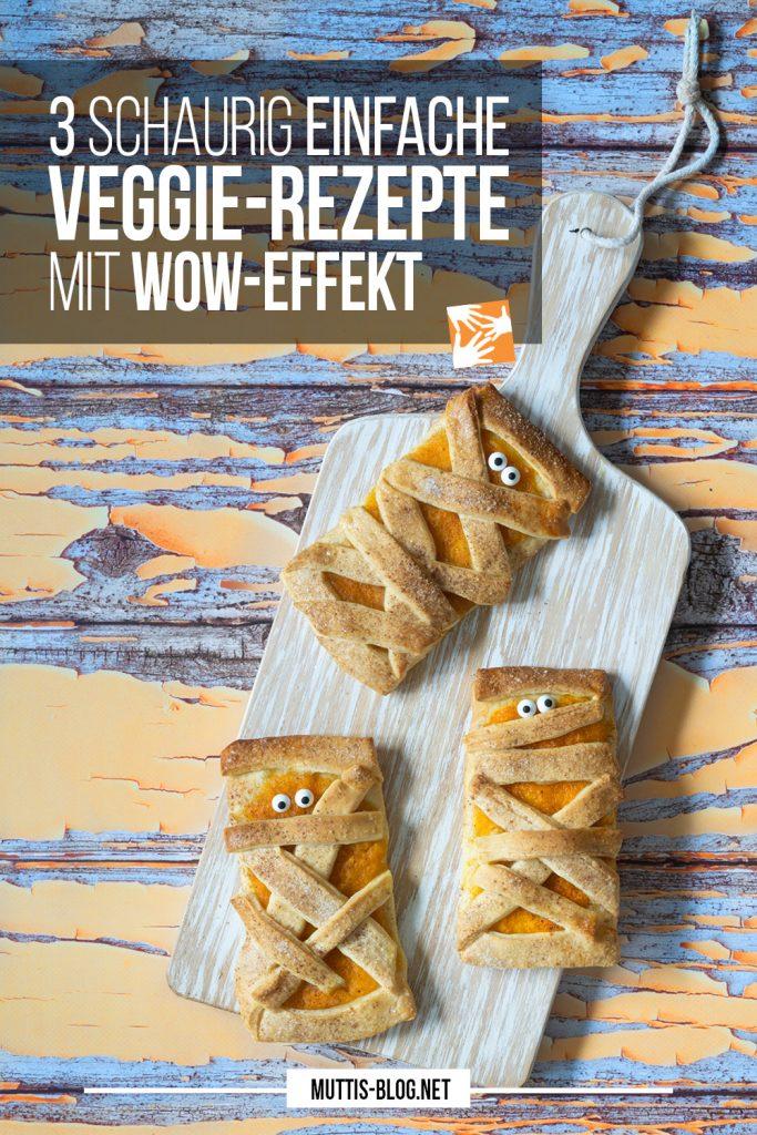 3 schaurig einfache Halloween-Rezepte vegetarisch