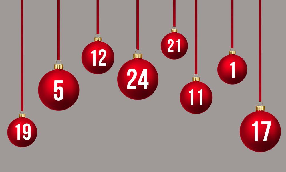 Adventskalender, mal anders: alternative Ideen für den Advent. Kalender für Paare gewinnen!