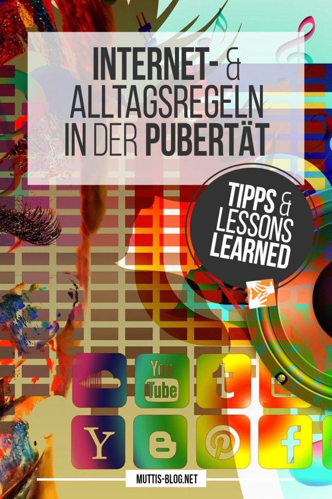 Alltagsregeln in der Pubertät: Tipps + Lessons learned