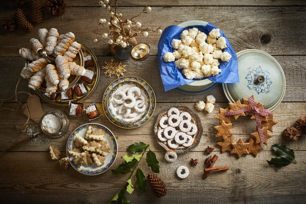 Weihnachtsrezepte Kokosbusserl