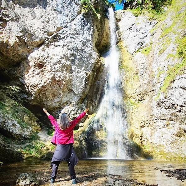 Wasserfall in der Plötz