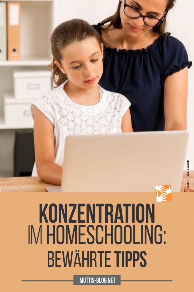 Konzentrationsprobleme lösen im Homeschooling: bewährte Tipps