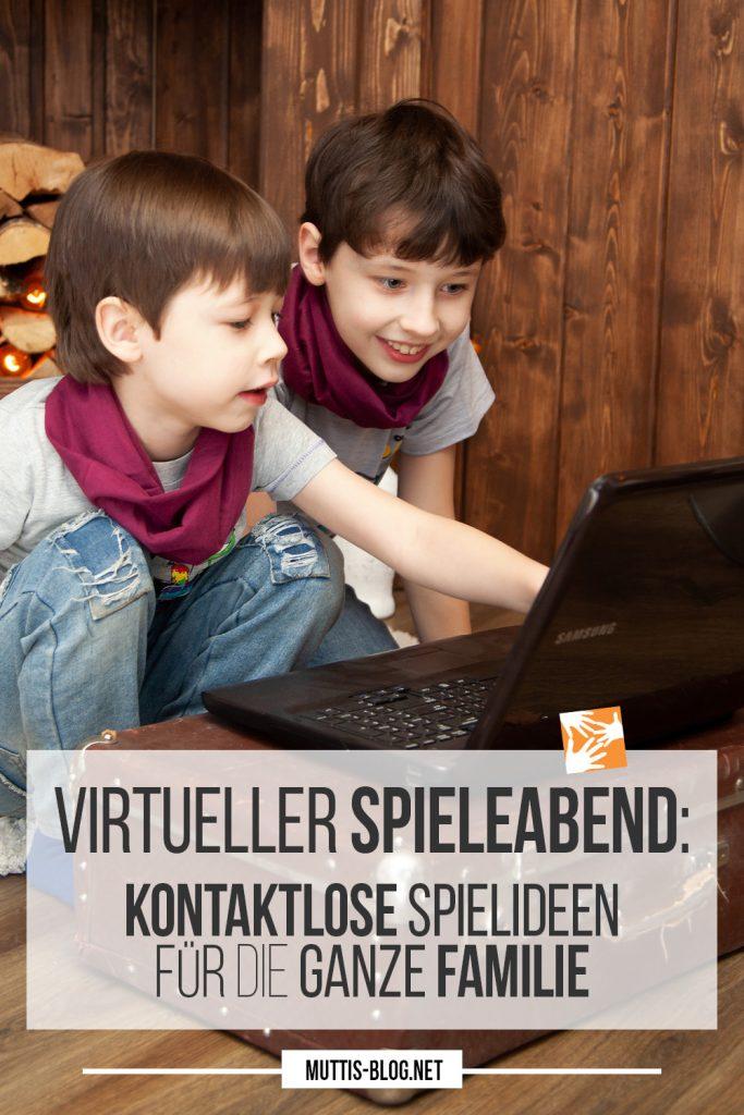 Virtueller Spieleabend: Kontaktlose Spielideen für die ganze Familie