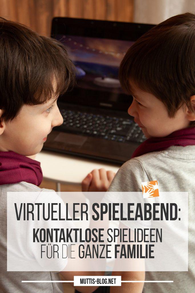 Virtueller Spieleabend: Spielideen über Videochat ür die ganze Familie