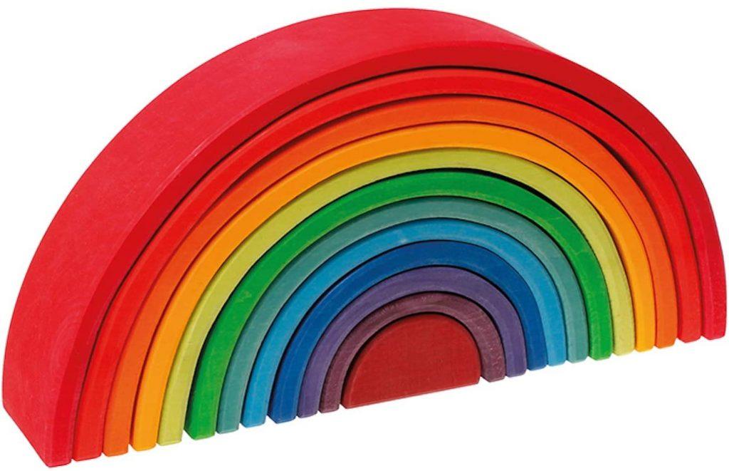 Regenbogen Geschenke zum 2. Geburtstag
