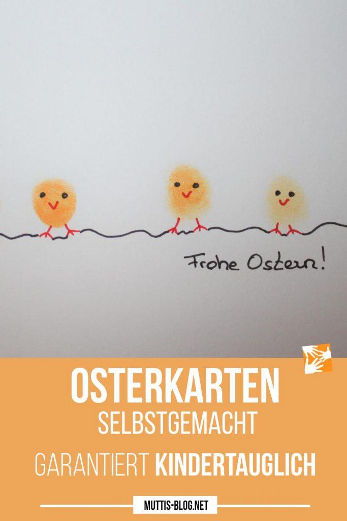 Osterkarten selbstgemacht
