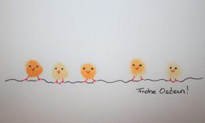 Osterkarten selbstgemacht: Garantiert kindertauglich