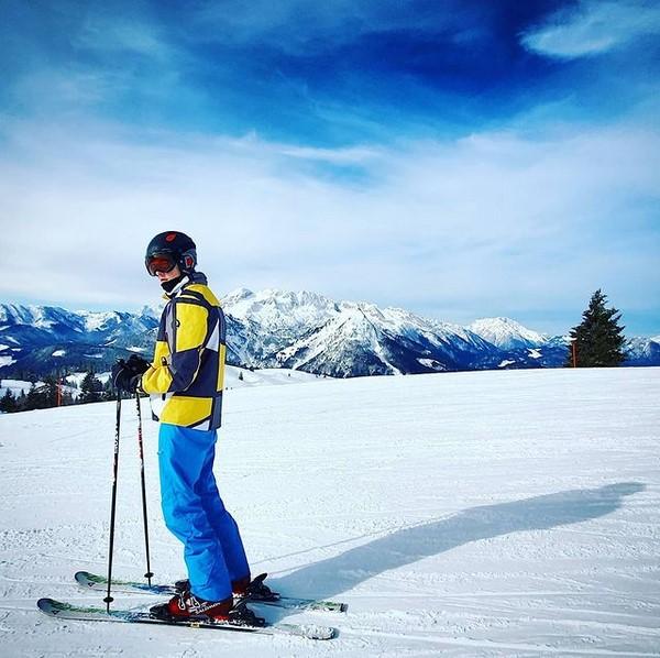 Skifahren mit Jugendlichen