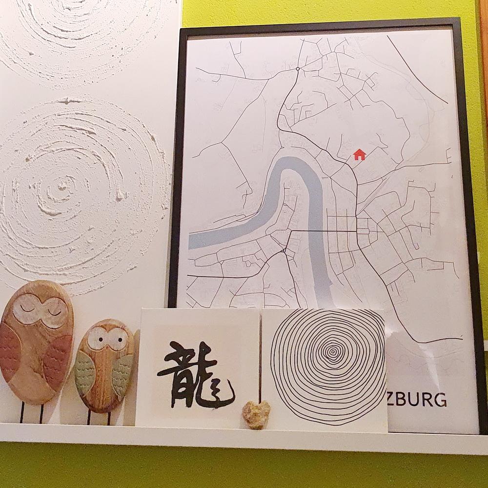 Familienerinnerungen festhalten: Positive Prints Stadtplan-Poster