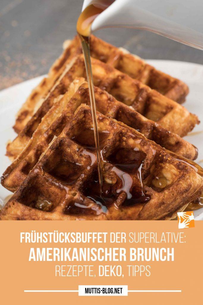 Frühstücksbuffet der Superlative - amerikanischer Brunch