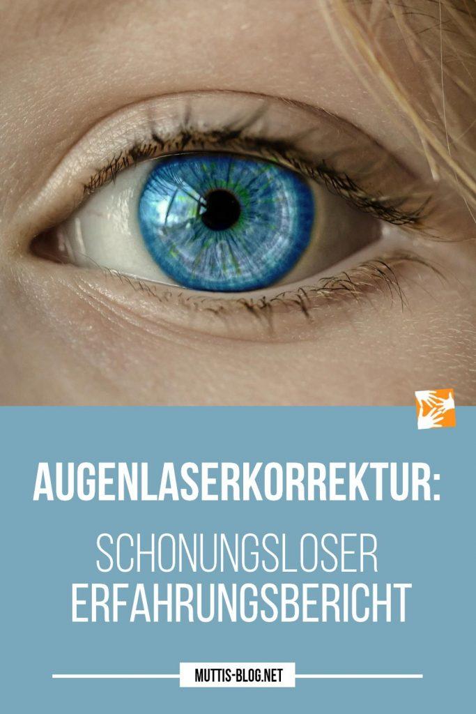 Augenlaserkorrektur Erfahrungsbericht