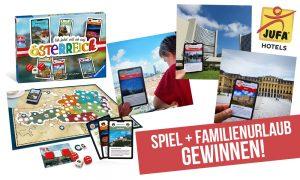 Spielend Österreich erkunden & Familienurlaub gewinnen!