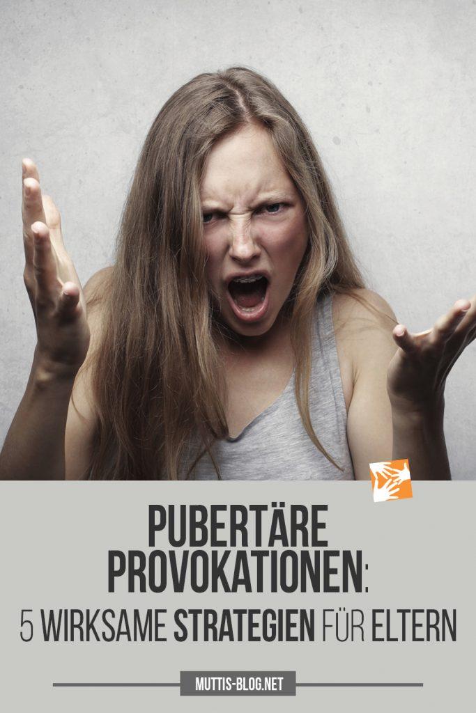 Provokationen und Beleidigungen in der Pubertät: 5 wirksame Strategien für Eltern
