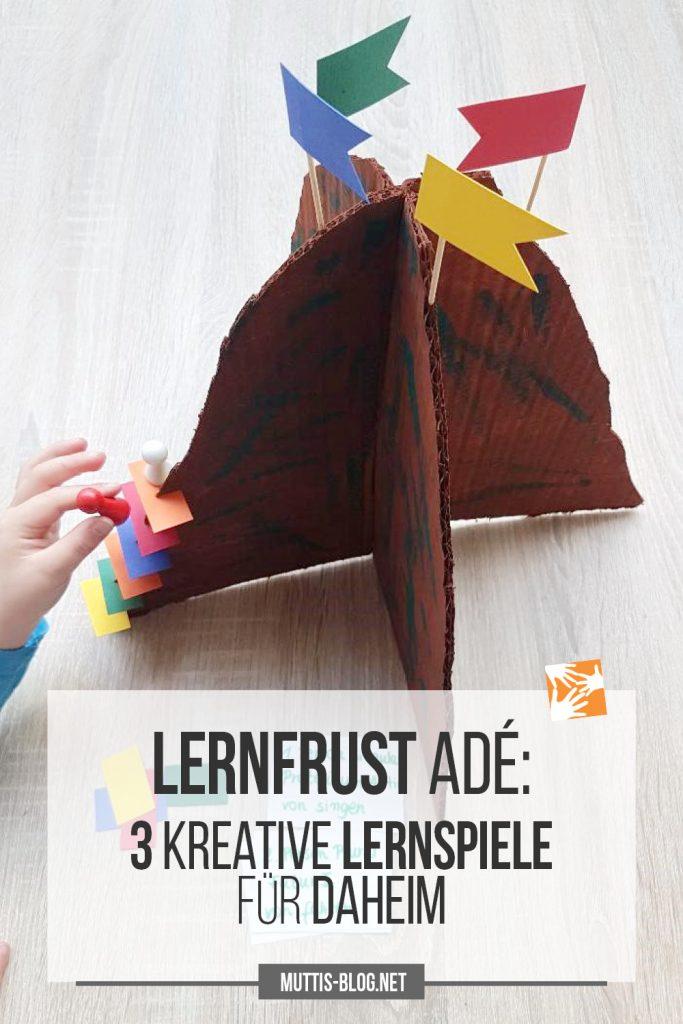 Lernfrust ade: 3 kreative Lernspiele für daheim